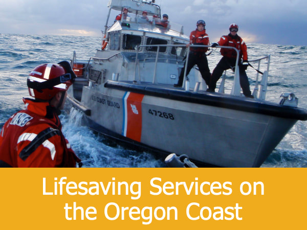 Lifesaving Services on the Oregon Coast